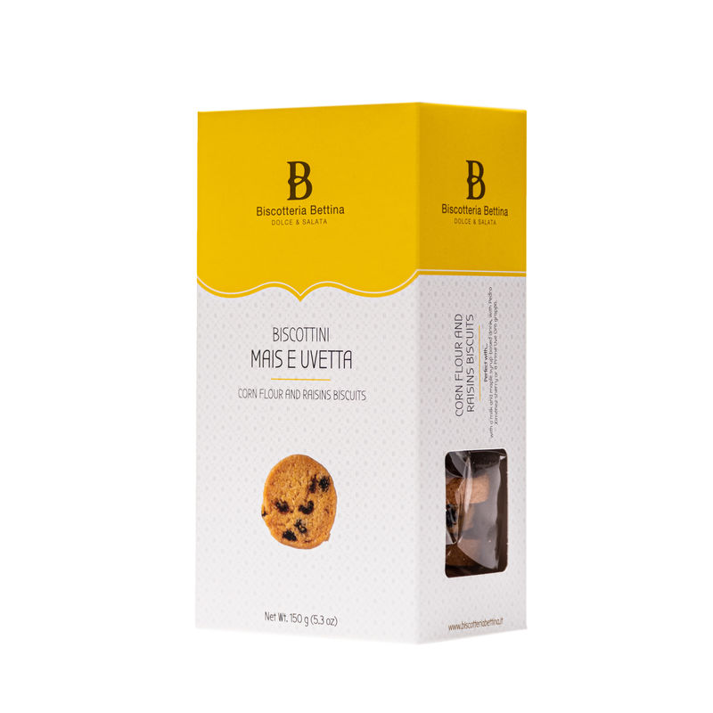 Corn Flour and Raisins ~ Mais E Uvetta Box