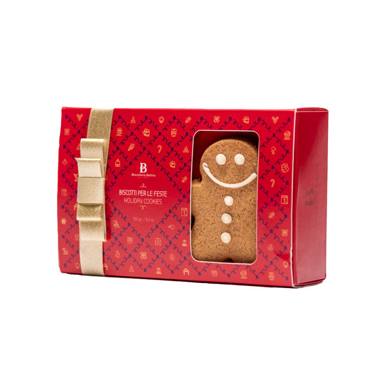 Gingerbread Men Holiday Gift Box