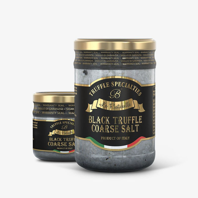 Black Truffle Coarse Salt ~ 3.9oz
