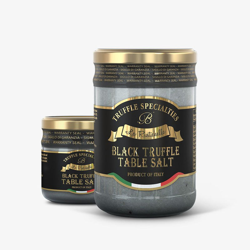 Black Truffle Table Salt~ 12oz