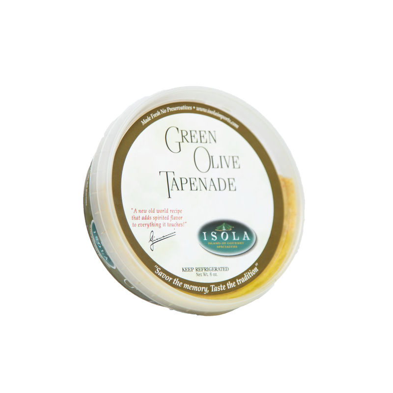 Isola Green Olive Tapenade