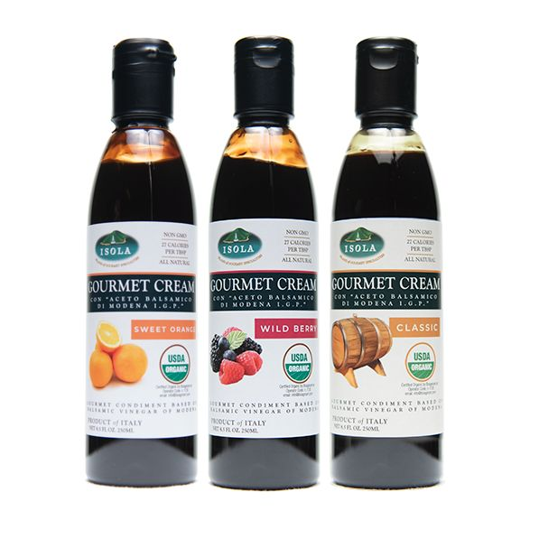 Isola Organic Cream of Balsamic Gourmet Pack