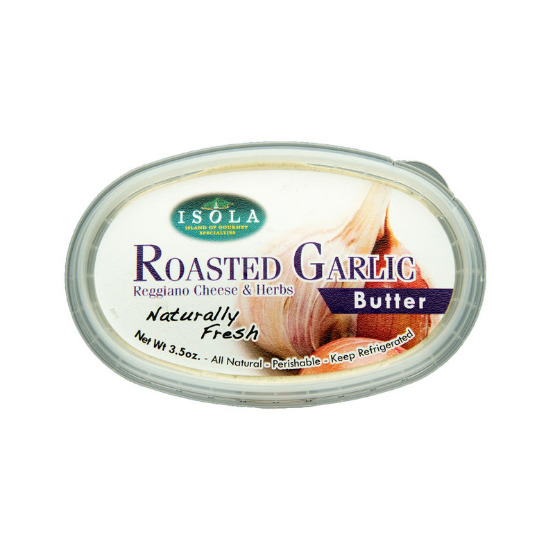 Isola Roasted Garlic Butter
