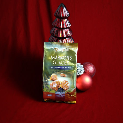 Vergani Marrons Glaces (Glazed Chestnuts) Gift Bag